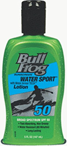 BullFrog Water Sport SPF 50 Sunscreen Lotion 5 oz (Sport Distributor)