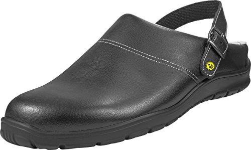 """Schürr Herren OP-Schuhe, Sandalen """"Straubing"""" , Farbe: schwarz, Größe: 44"""