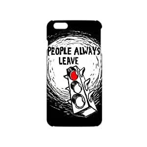KJHI Peyton Sawyer People Always Leave 3D Phone Case for iphone 6 plusd 5.5