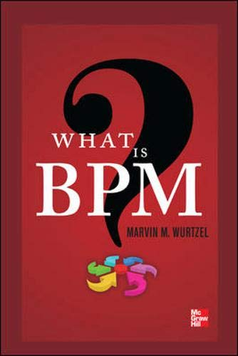 What Is BPM? (The Certified Six Sigma Master Black Belt Handbook)