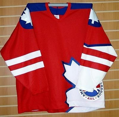 1998 AHL All-Star Game CCM Authentic On Ice Game Issued Red Hockey Jersey (Ahl Hockey Jerseys)