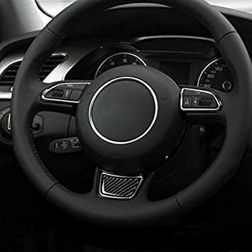 Fibra de Carbono engomada de la decoraci/ón del Ajuste for Audi A6 A7 12-18 without brand SY-CMBSBH