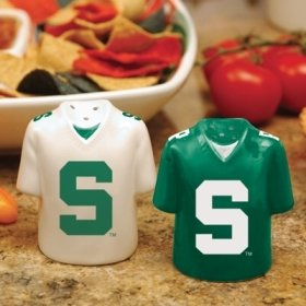 - Michigan State Spartans Gameday Jersey Salt and Pepper Shakers