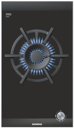 Siemens ER326AB90E hobs Integrado Encimera de gas Negro ...