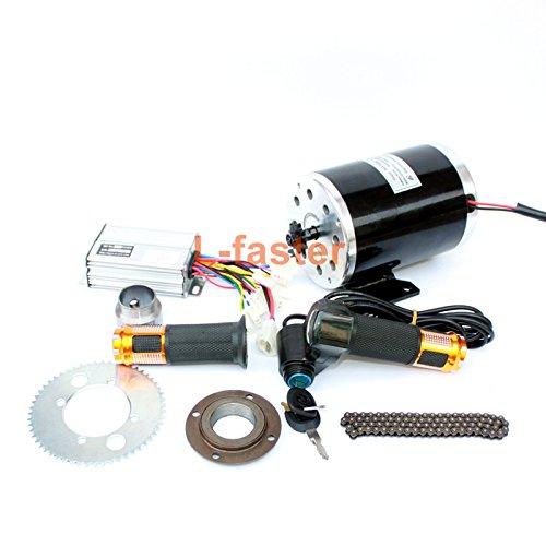 500ワット電動オートバイモーターキット使用25 25hチェーンドライブ高速電動スクーター交換電気ゴーカート変換キット B07C9QYVR948V twist kit