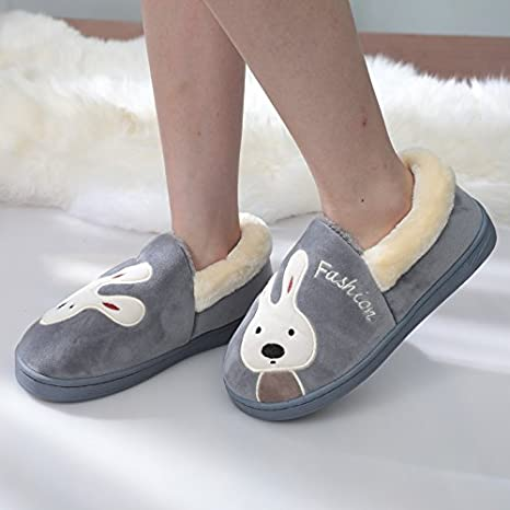 0e2a855f500a3 Amazon.com : Aemember Female Winter Cotton Slippers Lovers Package ...