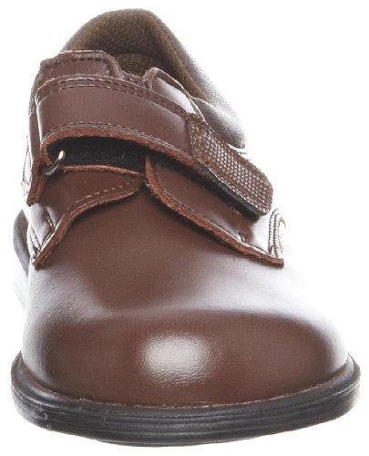 Class Marron Velcro Toughees d'École Chaussures Uniforme Garçon qp7xvfzx