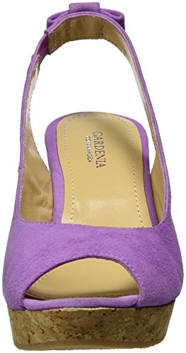 Violet Femme Gardenia suede Bout Sandales Canny Ouvert Copenhagen Lillac FxcqR6YP