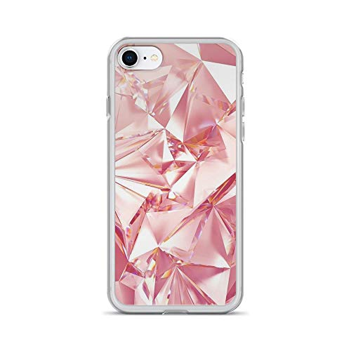 - iPhone 7/8 Pure Clear Case Cases Cover Rose Gold Stripes Wallpapers