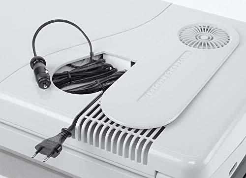 41d6Q4ygjgL Mobicool Q40 AC/DC - Tragbare Elektrische Alu-Kühlbox, 39 Liter, 12 V und 230 V für Auto, Lkw, Boot, Reisemobil und…