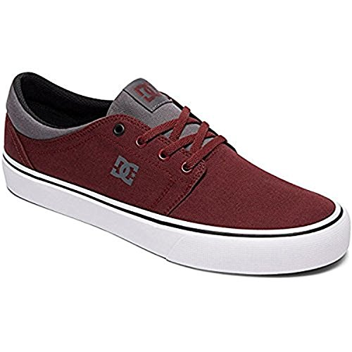 Trase TX DC Unisex Burgundy Men's Shoe Skate Dawn 7aqW8