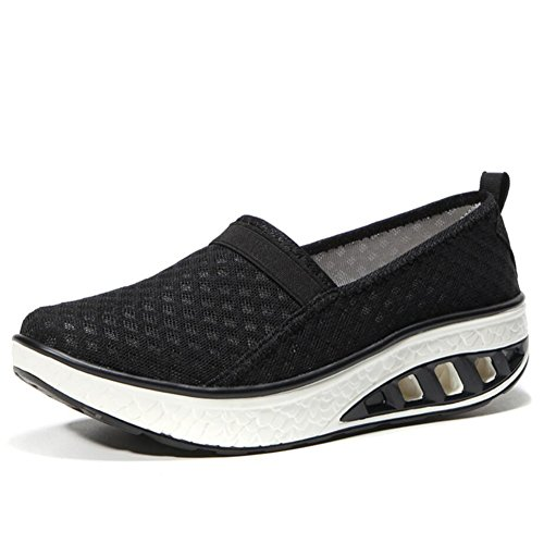 Athletic XUE Shake Shoes Color Women's Loafers Loafers Shoes Slip Fall amp; Shaking Size Mesh Fitness Spring Driving Shoes Shoes Flat B Sneakers B Shoes Platform Ons 41 Shake Shoes Shoes 1wrnO7q1