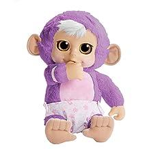 ANIMAL BABIES 93247 Deluxe Electronic Plush Baby Monkey
