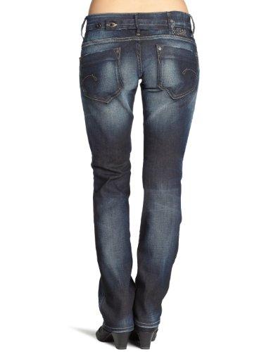 nbsp;– 1368 Midge nbsp;STAR Mujer Blau G Jeans Vintage Aged Aged Straight Vintage SBF66wqA