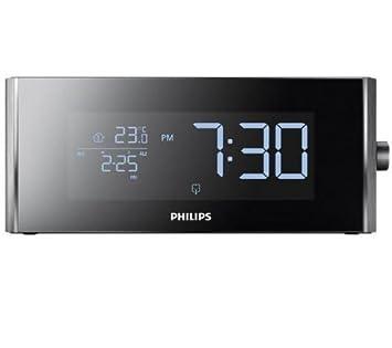 PHILIPS Radio despertador AJ7010 / 12 + 12 pilas Pro Power LR06 (AA): Amazon.es: Electrónica