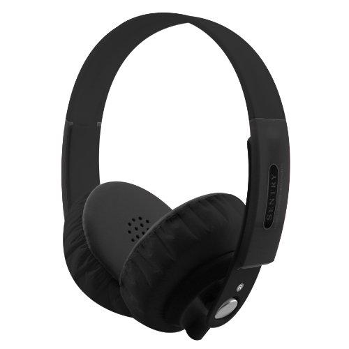 Sentry Industries Inc. HO866 FatBoys Digital Headphones, Black