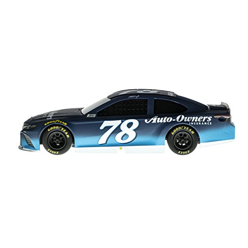 (Lionel Racing Nascar Authentics 2018 Martin Truex Jr # 78 Auto Owners Insurance Diecast, Blue, White, 1: 24 Scale)