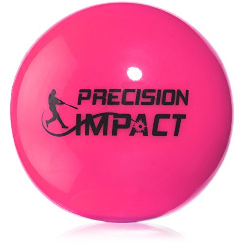 Precision Impact Softball-Size Slugs: Heavy Weighted Softballs for Practice; Hitting Training Aid (6-Pack) by Precision Impact