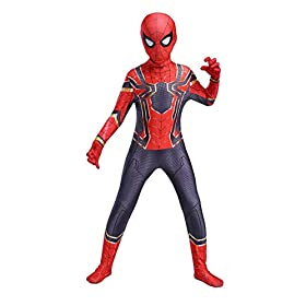 Utumr The Spider Verse Kids Bodysuit Spiderman Superhero Costumes Lycra Spandex Halloween Cosplay Costumes