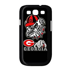 Customize Georgia Bulldogs Back Case for SamSung Galaxy S3 I9300 JNS3-1311