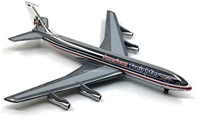 1/400スケールの航空機モデル、1/72スケールボーイング707合金のモデル、子供のおもちゃとギフト