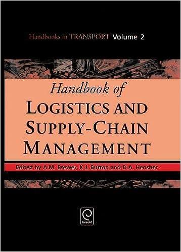Handbook of Logistics and Supply-Chain Management (Handbooks
