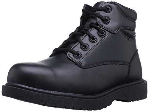 Grabbers Men's Kilo 6'' Work Boots, Black Leather, Rubber, 11.5 W (Grabber Business)