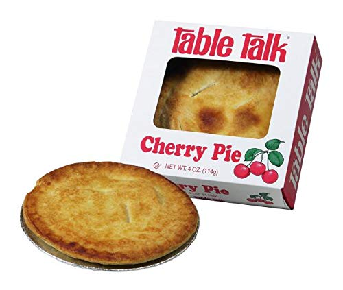Table Talk Pie, Snack pies, 4oz - Pack of 2 (Cherry) made in New England