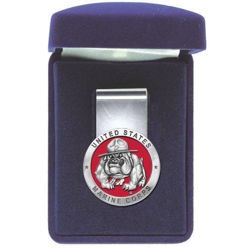 United States Marine Corps Bulldog Money Clip