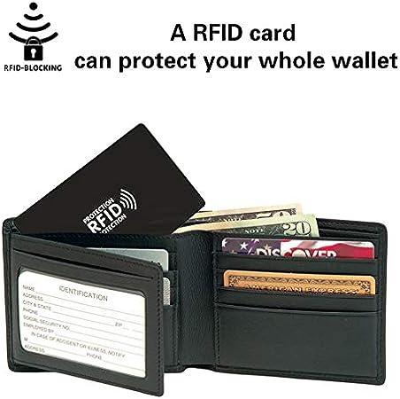 RFID /& NFC bloccando il furto di dati della carta di credito wallet Protezione Protettore
