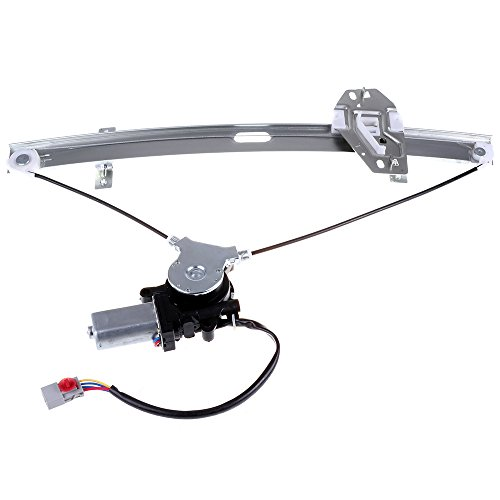 Power Window Lift Regulator on Front Left Drivers Side with Motor Assembly Replacement for 1998-2002 Honda Accord 4 Door 72250S84A02 72250S84A03