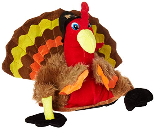 (Forum Novelties Men's Novelty Turkey Hat, Multi, One)