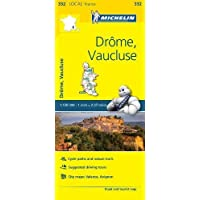 Drome, Vaucluse - Michelin Local Map 332 (Mapas Local Michelin, Band 332)