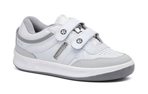 Paredes DP101 BL45 Estrella Velcro Chaussures de travail O1 Taille 45 Blanc