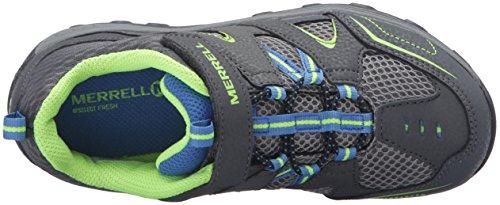 Merrell Trail Chaser - Zapatos de Low Rise Senderismo Niños Gris (Grey/Blue/Citrongrey/Blue/Citron)