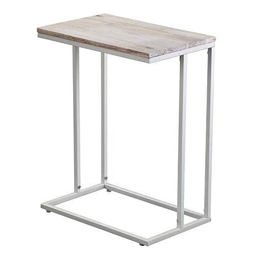 C Tables Furniture: Amazon.com: C-Shaped End Table