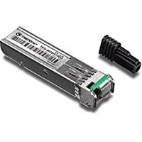 TRENDnet SFP Dual Wavelength Single-Mode LC Module, Up to 10 km (6.2 Miles), Must Pair with TEG-MGBS10D3 or other compatible module, TEG-MGBS10D5