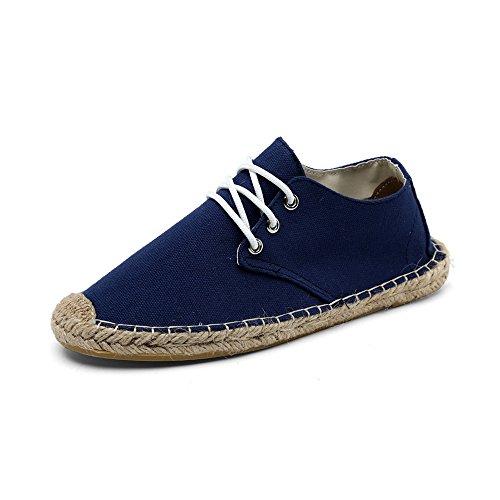 OCHENTA Casuales Las zapatillas de deporte Moda transpirable Azul