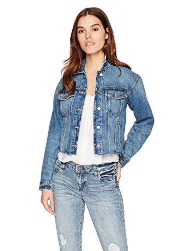 Joe's Jeans Women's Cut Off Denim Jacket, dyanna, S by Joe's Jeans