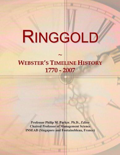 Ringgold: Webster's Timeline History, 1770 - 2007