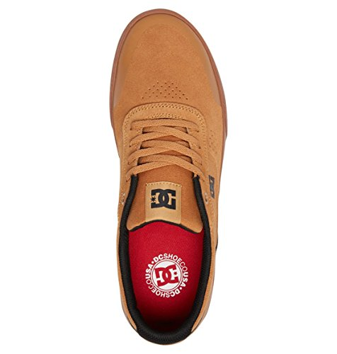 Dc Mens Switch Plus Sneakers Da Skate Brown / Gum