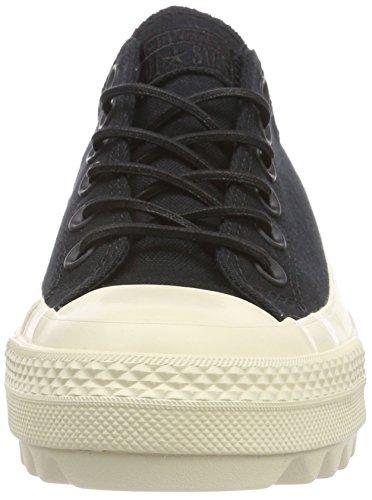 001 Ox 36 Noir Adulte Ctas Converse black Mixte Ripple natural Eu Baskets Lift black txOqSw0q