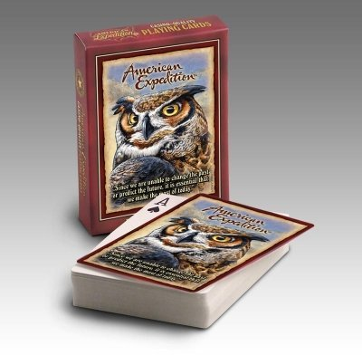 Wildlife Playing Cards (Great Horned - Cards Reptile Playing