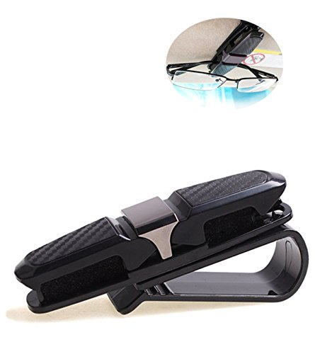 Sunglass Holder, Sun Visor Clip for Sunglasses Card with Double Holder in - On Sunglasses Holder Clip