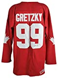 Oilers Wayne Gretzky Authentic Signed Team Canada Jersey PSA/DNA #V09739