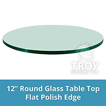 amazon com glass table top 36 round 1 4 thick beveled edge rh amazon com beveled glass table top up or down beveled glass table top near me