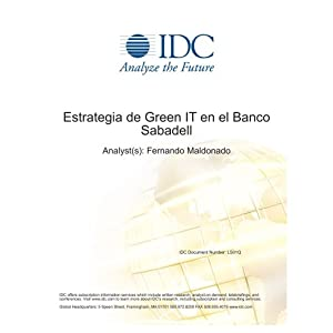 Estrategia de Green IT en el Banco Sabadell Fernando Maldonado