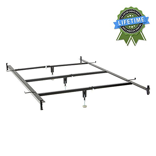 Full to Queen Converter Rail, Hook-on with 3 Center Supports by Fashion Bed Group