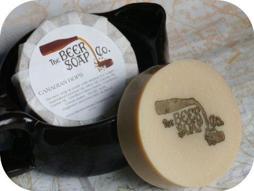 Canadian Hops Beer Soap - Made With Molson Ice Lager by The Beer Soap Company Lagers ()
