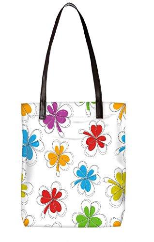 Snoogg Strandtasche, mehrfarbig (mehrfarbig) - LTR-BL-3814-ToteBag